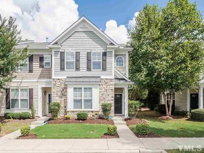Raleigh Townhouse For Sale: 3019 Parkersburg Street