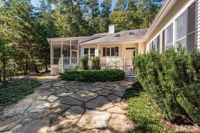 Chatham County Single Family Home For Sale: 669 Spindlewood