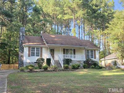 Louisburg Single Family Home For Sale: 132 Clear Water Road