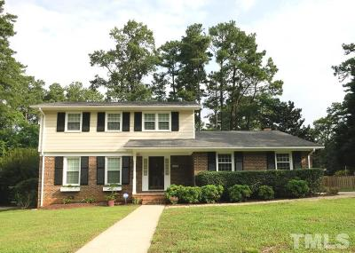 Raleigh Single Family Home For Sale: 1013 Country Ridge Drive