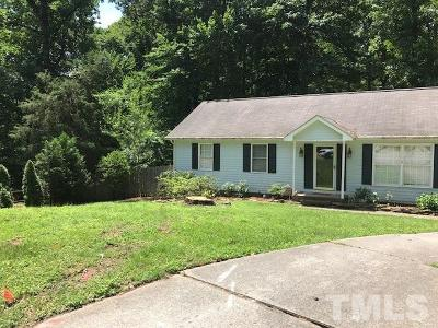 Raleigh Rental For Rent: 7301 Barberry Court
