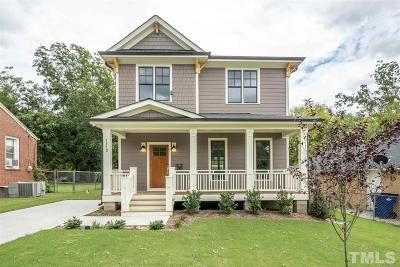 Raleigh Single Family Home For Sale: 1113 Gregg Street
