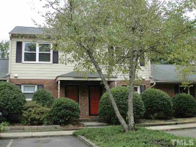 Carrboro Townhouse For Sale: 119 Fidelity Street #B-2