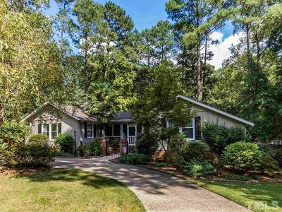 Wake Forest Single Family Home For Sale: 100 Oakwood Drive