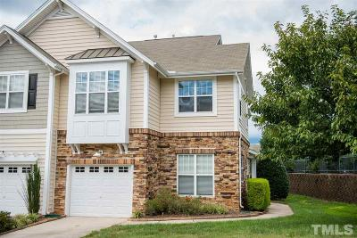 Raleigh Townhouse For Sale: 5006 Amber Clay Lane