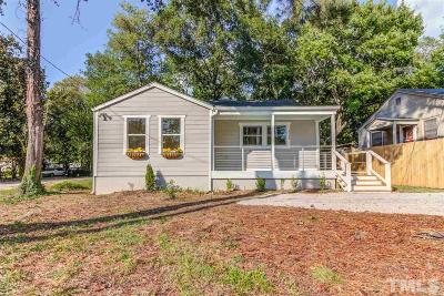 Raleigh Single Family Home For Sale: 2209 Poole Road