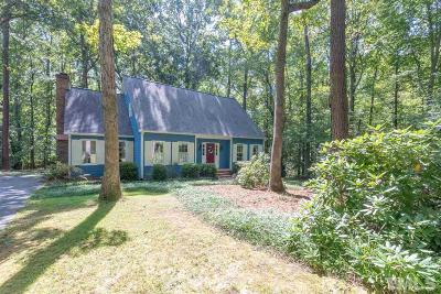 Durham Single Family Home For Sale: 3119 Quincemoor Road