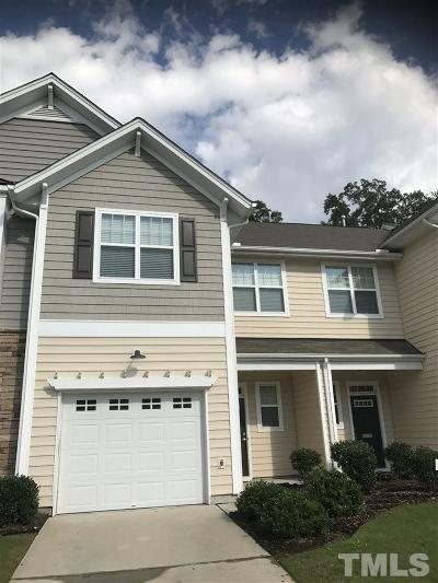 Morrisville Townhouse For Sale: 403 Suffolk Green Lane