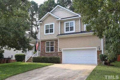 Wake County Single Family Home For Sale: 3924 Song Sparrow Drive
