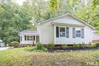 Cary Single Family Home For Sale: 203 Dunhagan Place
