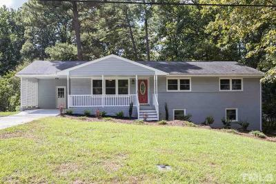 Cary Single Family Home For Sale: 211 Marilyn Circle