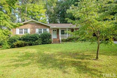 Raleigh Single Family Home For Sale: 4912 Cindy Drive