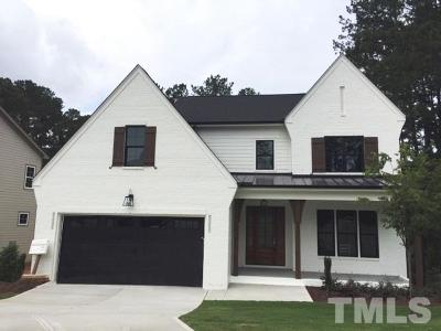 Wake County Single Family Home For Sale: 2017 Litchfield Downs Lane