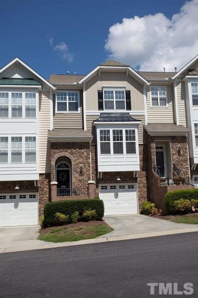 Raleigh Townhouse For Sale: 5028 Celtic Court
