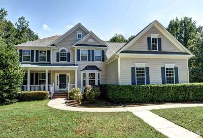 Apex Single Family Home Contingent: 1021 Sunset Meadows Drive