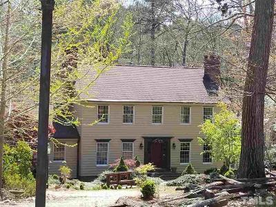 Wake County Single Family Home For Sale: 9605 Old Creedmoor Road