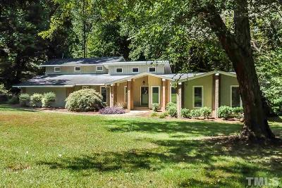Raleigh NC Single Family Home For Sale: $625,000