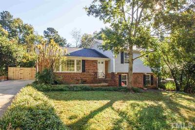 Raleigh Single Family Home For Sale: 5308 Cedarwood Drive