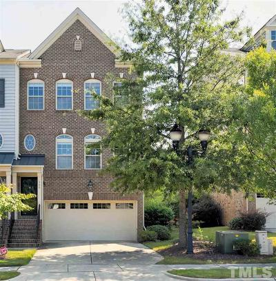 Cary Townhouse For Sale: 500 Panorama View Place
