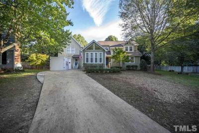Raleigh Single Family Home Contingent: 8612 Canoe Court