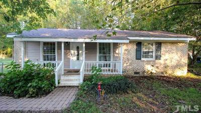 Wendell Single Family Home For Sale: 119 Griffin Drive