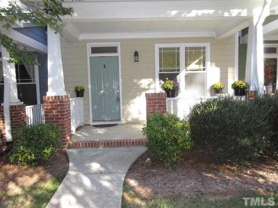 Pittsboro Townhouse For Sale: 96 Millbrook Drive