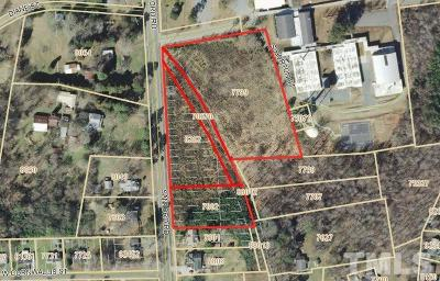 Chatham County Residential Lots & Land For Sale: Sanford Road