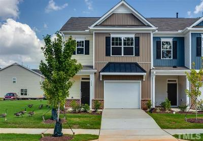Raleigh Townhouse For Sale: 6006 Beale Loop #124 Dard