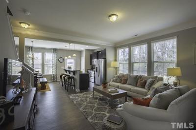 Clayton Townhouse For Sale: 71 W Grove Point Drive #107