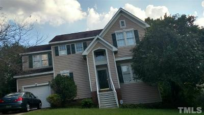 Raleigh NC Single Family Home For Sale: $179,900