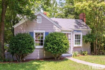 Raleigh NC Single Family Home For Sale: $303,500