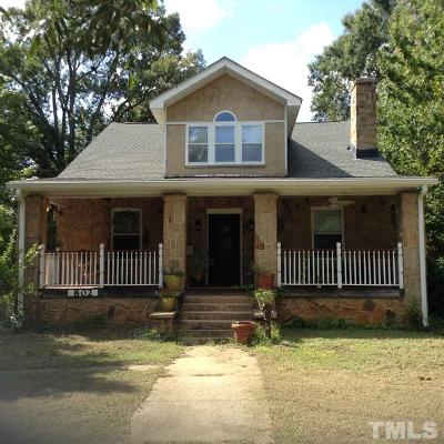 Wake Forest Single Family Home For Sale: 802 S Main Street