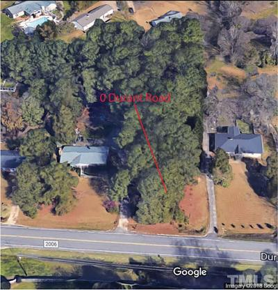 Wake County Residential Lots & Land For Sale: Durant Road