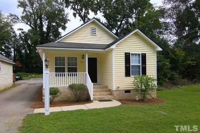Knightdale Single Family Home For Sale: 310 Second Avenue