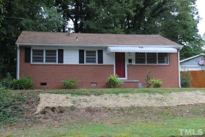 Durham Single Family Home For Sale: 1634 Greenbriar Road