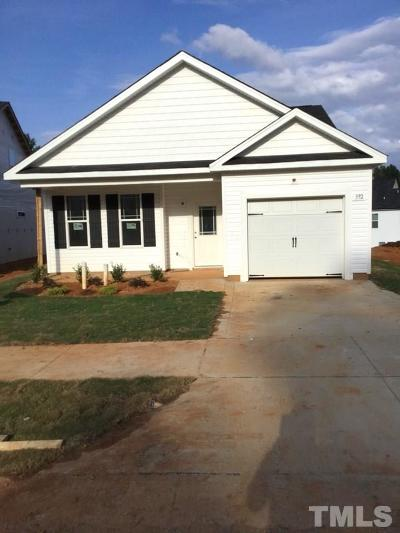 Clayton Single Family Home For Sale: 392 Crawford Parkway