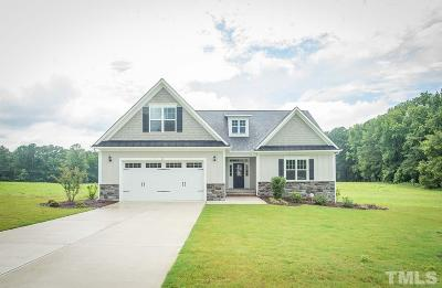 Clayton Single Family Home For Sale: 40 S.lumina Lane