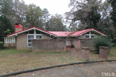 Granville County Single Family Home For Sale: 172 Pine Cone Drive