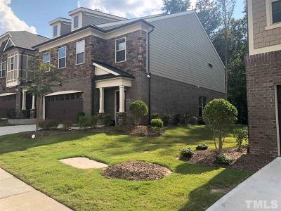 Cary Townhouse For Sale: 550 Fumagalli Drive