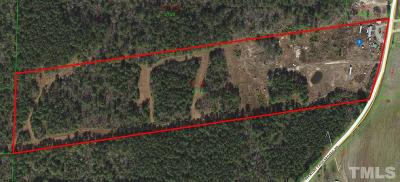 Johnston County Residential Lots & Land For Sale: 6388 Hickory Crossroads Road