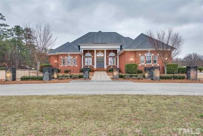 Nash County Single Family Home For Sale: 3510 Grove Lane