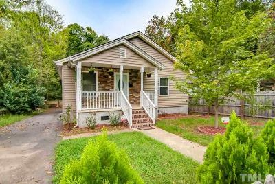 Durham Single Family Home For Sale: 1409 N Hyde Park Avenue