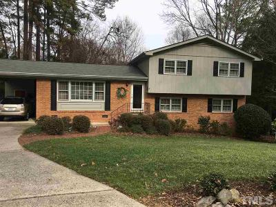 Raleigh Single Family Home Pending: 5312 Kirkwood Court
