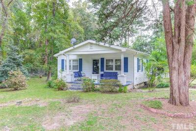 Raleigh Single Family Home For Sale: 1316 Bethel Road