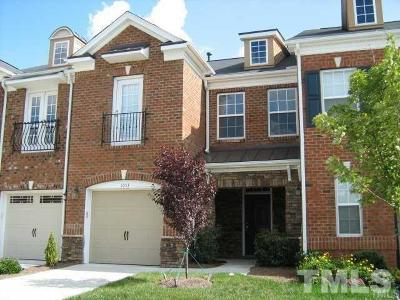 Cary Rental For Rent: 1053 Remington Oaks Circle