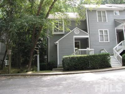 Cary Rental For Rent: 103 Hunting Chase #1-A