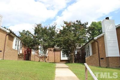 Wake County Rental For Rent: 4608 Brockton Drive #D