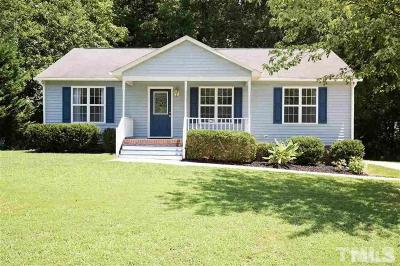 Wake County Rental For Rent: 141 Holly Mountain Road