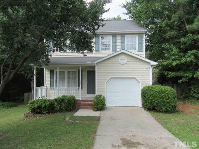 Wake County Rental For Rent: 102 Valley Park Drive