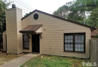Cary Rental For Rent: 107 Bonnell Court